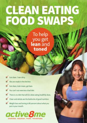Clean eating food swaps
