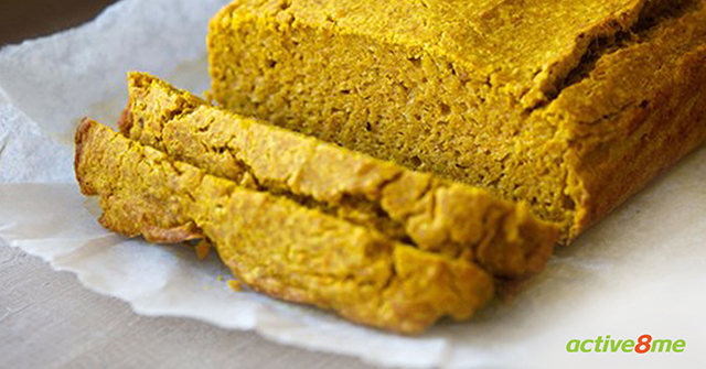 Active8me Save Time Healthy Living Hacks for Busy People easy pumpkin loaf