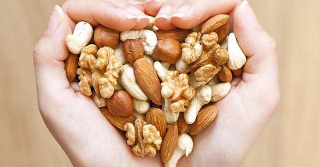 Active8me 11 Rejuvenating Foods for Stunning Youthful Skin Handful of nuts