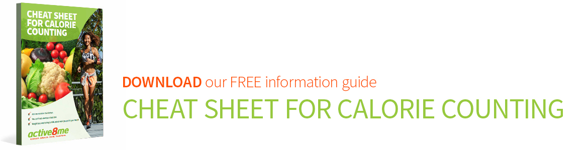 Active8me Cheat Sheet for Calorie Counting Free information guide