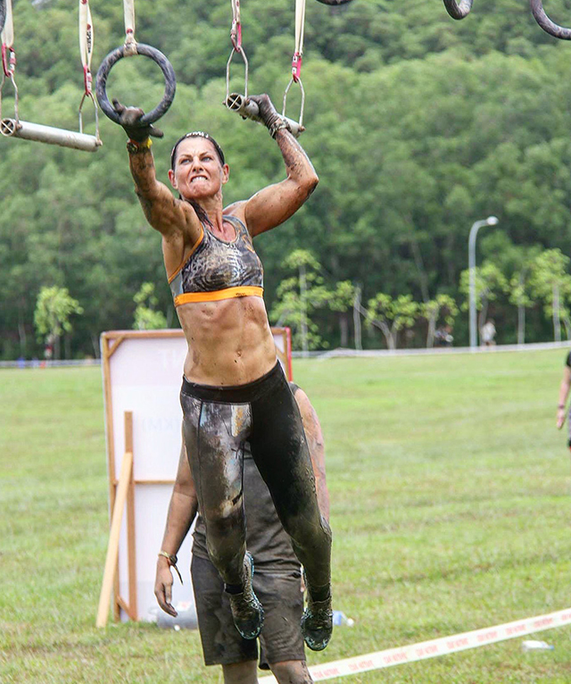Active8me Expert Tips on Training for an Obstacle Race Natalie Dau challenges