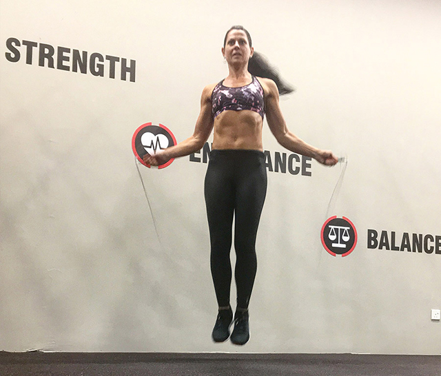 Active8me Expert Tips on Training for an Obstacle Race Natalie Dau rope skipping