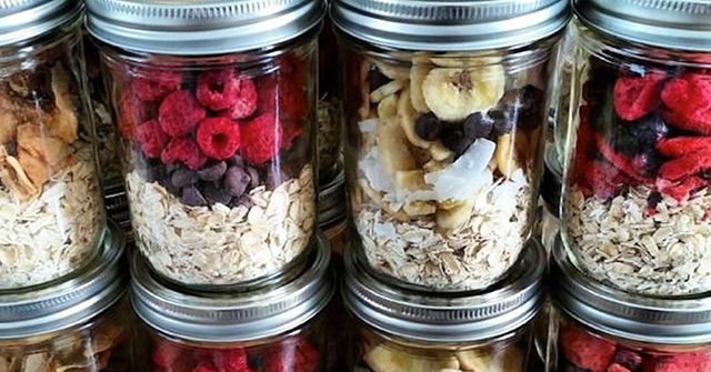 Active8me Make Your 24 Hours Count - 10 Hacks For Better Productivity mason jar oatmeal recipes