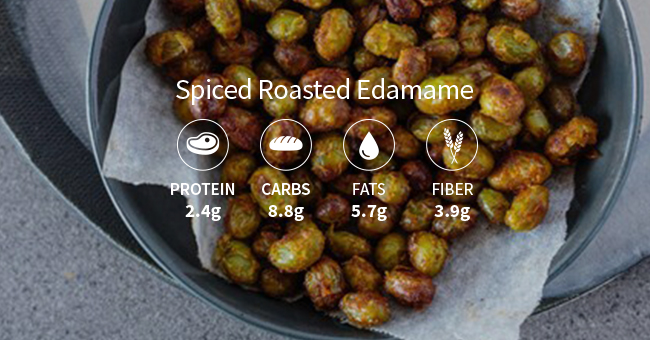 Active8me 10 ways to have a healthy mindset Spiced Roasted Edamame