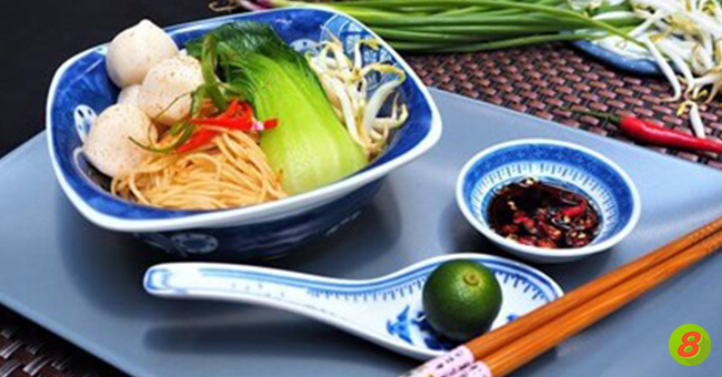 Active8me recipe dry fishball noodles