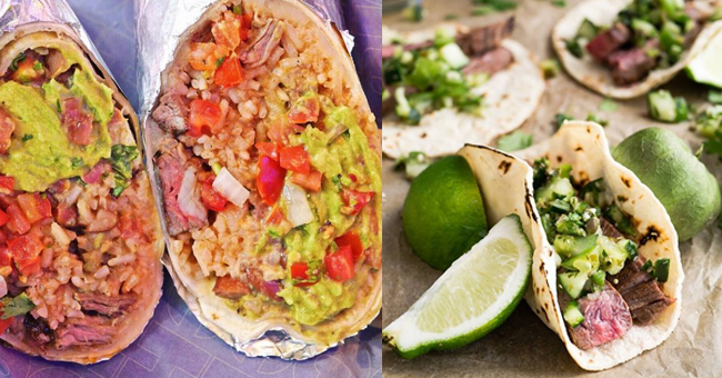a lunch date with the fit healthy adventurous allan wu Muchachos Burrito