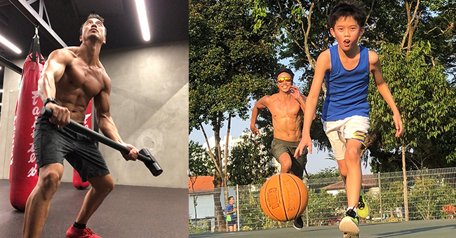 a lunch date with the fit healthy adventurous allan wu abs