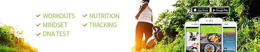 Active8me footer workouts mindset nutrition dna test tracking