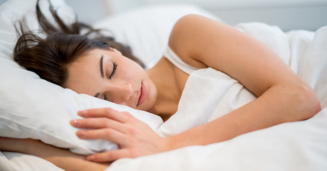 Active8me Sleep your way to better muscles Sleeping girl