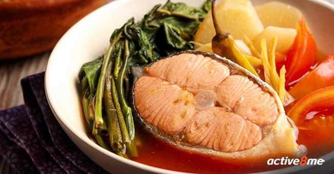Active8me good mood food eat better to feel better Sinigang na Salmon sa Miso