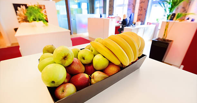 Active8me 8 ways your job is making you fat plus easy fixes fruit basket at work