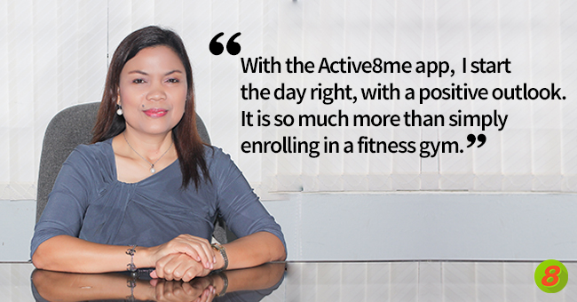 Case Study: How Evangeline Jamili made health a priority using Active8me Office Pose