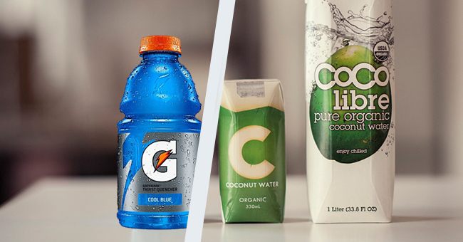 Active8me Mythbuster: Coconut water – Craze or Cure all? Sports drink