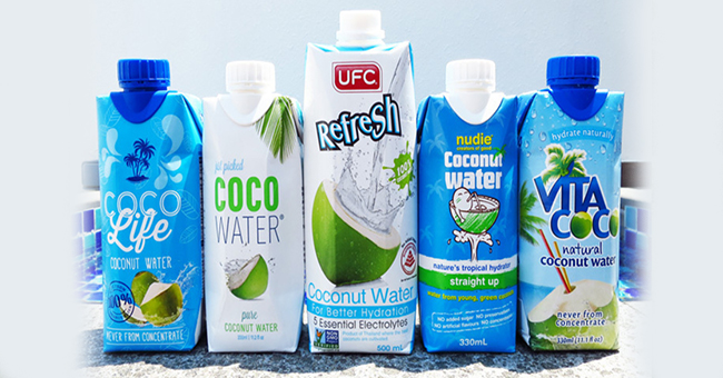 Active8me Mythbuster: Coconut water – Craze or Cure all? branded