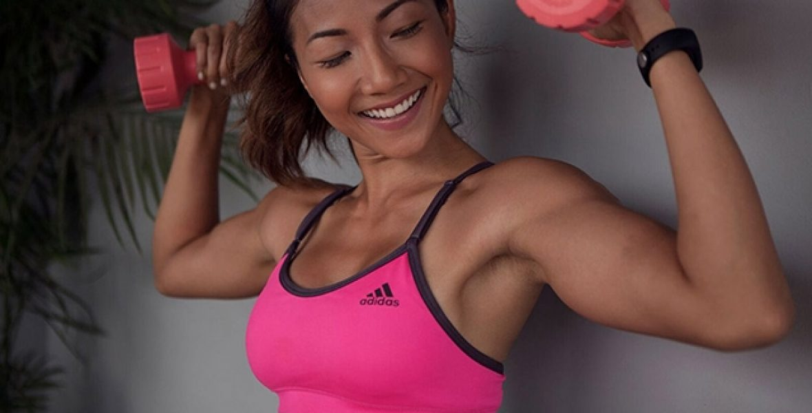 Active8me-workout-gear-101-your-guide-on-the-perfect-workout-gear-fay-hokulani-adidas-sports-bra